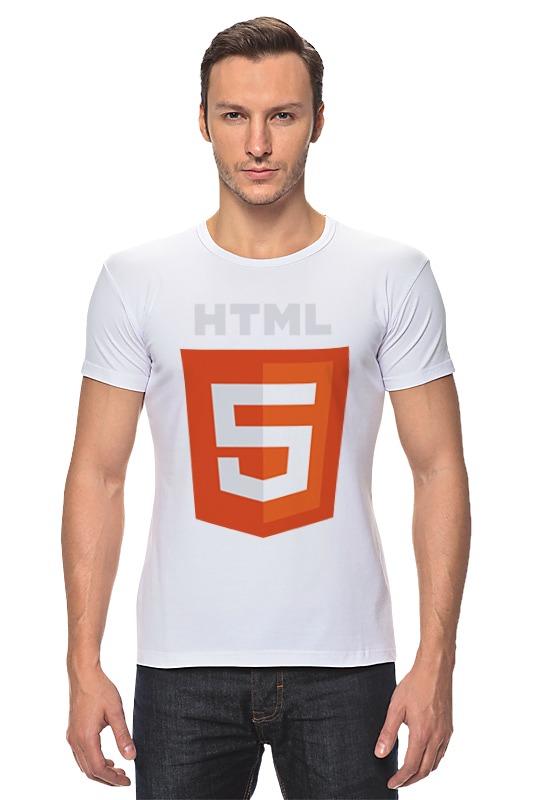 Футболка Стрэйч Printio Html5 сумка printio html5
