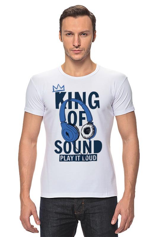 Футболка Стрэйч Printio King of sound футболка стрэйч printio kong is king кинг конг