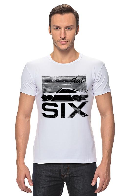 Футболка Стрэйч Printio Porsche carrera 911 flat six stance porsche 911 1974 ujlf украина