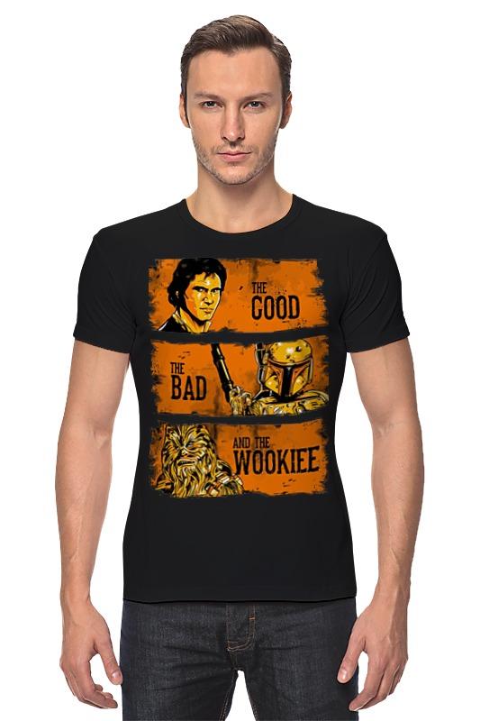 Футболка Стрэйч Printio The good, the bad and the wookie warlock 2 the exiled the good the bad