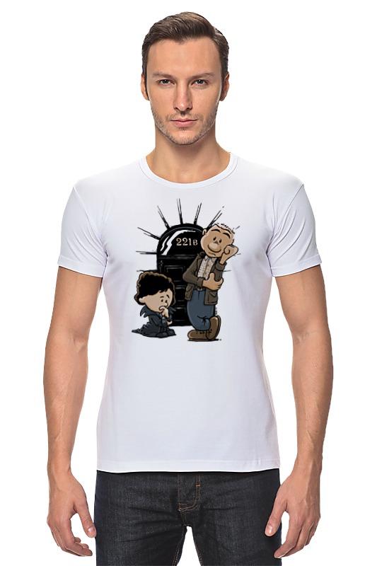 Футболка Стрэйч Printio Шерлок холмс футболка стрэйч printio доктор кто х шерлок холмс
