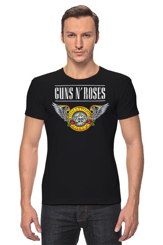 Футболка Стрэйч Printio Guns n' roses футболка стрэйч printio guns n roses