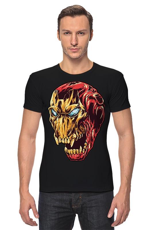 Футболка Стрэйч Printio Ironman / железный человек iclebo arte ironman edition