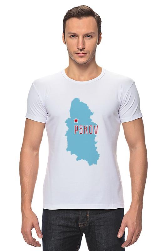 Футболка Стрэйч Printio Псковская область дом в псковской области рядом с лудони