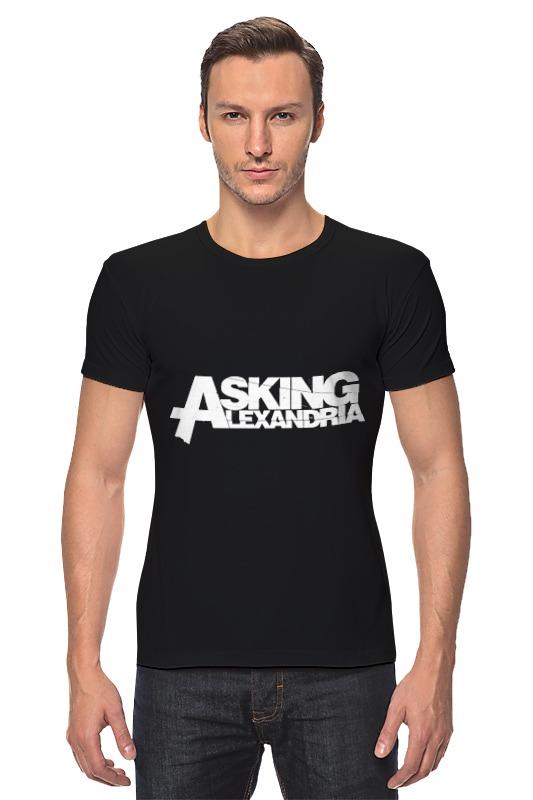 Футболка Стрэйч Printio Asking alexandria футболка рингер printio asking alexandria