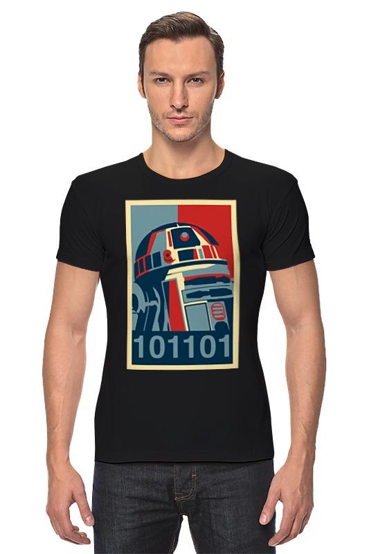 Футболка Стрэйч Printio R2-d2 (star wars) футболка классическая printio r2 d2 star wars