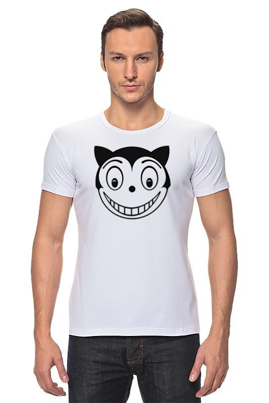 Футболка Стрэйч Printio Кот феликс футболка стрэйч printio черно белый кот