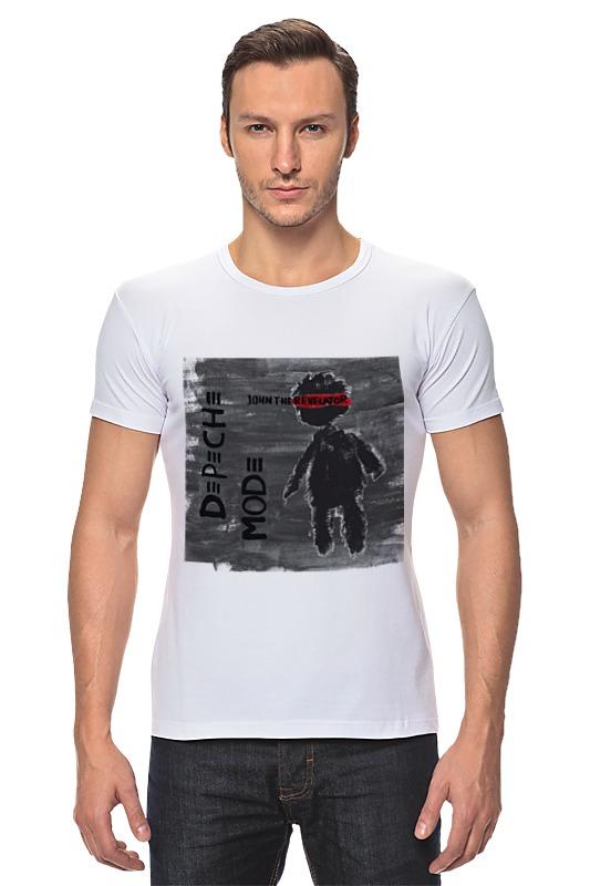 Футболка Стрэйч Printio Depeche mode depeche mode – spirit cd