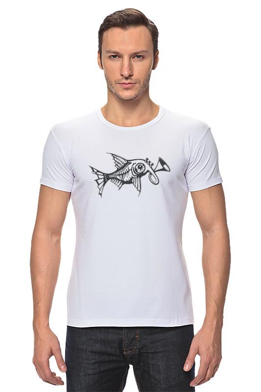 Футболка Стрэйч Printio Чудо-рыба рыба