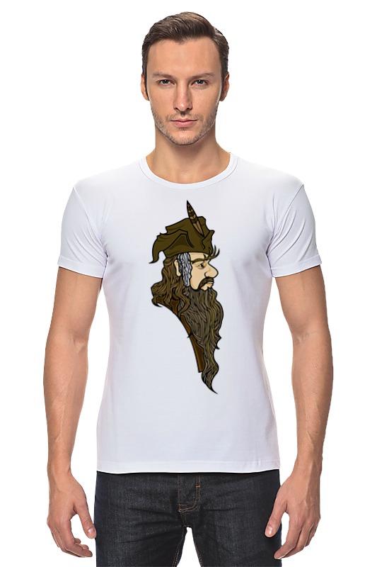 Футболка Стрэйч Printio Радагаст карий (radagast the brown) футболка toy machine leopard brown