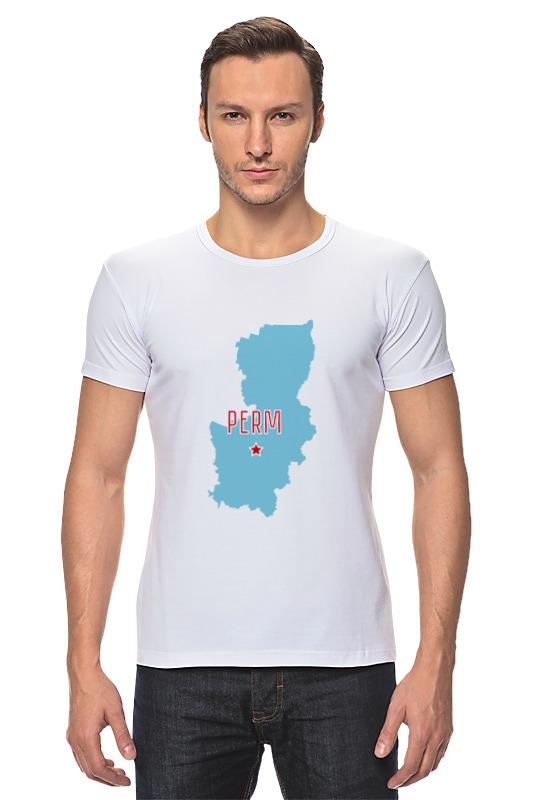 Футболка Стрэйч Printio Пермский край. пермь