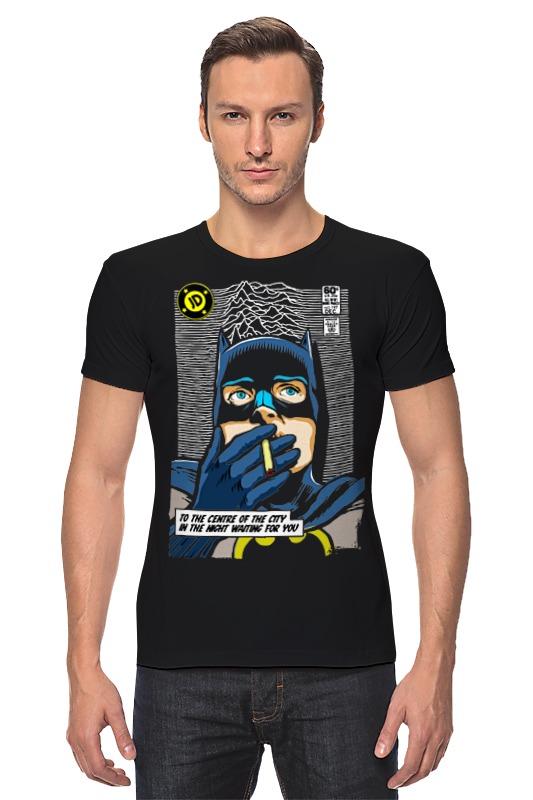 Футболка Стрэйч Printio Batman waiting for you лонгслив printio batman waiting for you