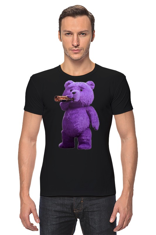 Футболка Стрэйч Printio Мишка тэд футболка wearcraft premium printio ted pss