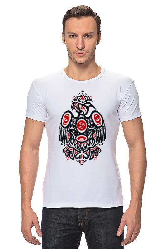 Футболка Стрэйч Printio Полинезийский орел