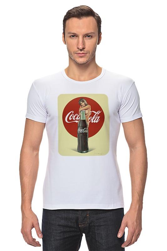 Футболка Стрэйч Printio Coca-cola colibri стол coca cola