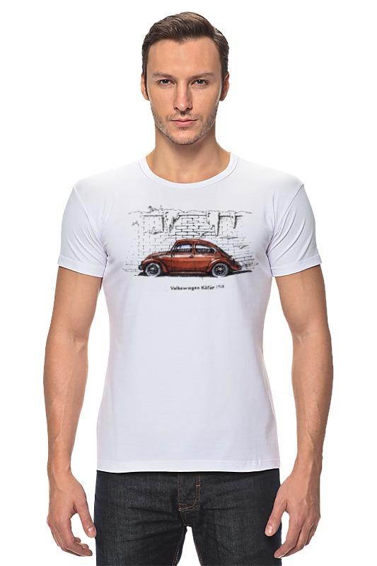 maisto радиоуправляемая модель volkswagen beetle цвет желтый Футболка Стрэйч Printio Volkswagen beetle