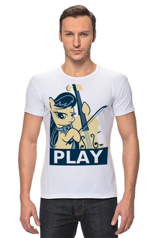 Футболка Стрэйч Printio Mlp octavia play футболка классическая printio mlp octavia play