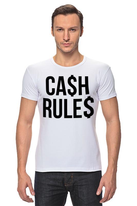 Футболка Стрэйч Printio Наличные (cash) palmer cash футболка