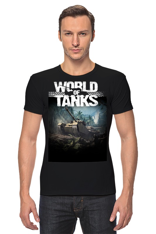 Футболка Стрэйч Printio World of tanks сумка printio подарки