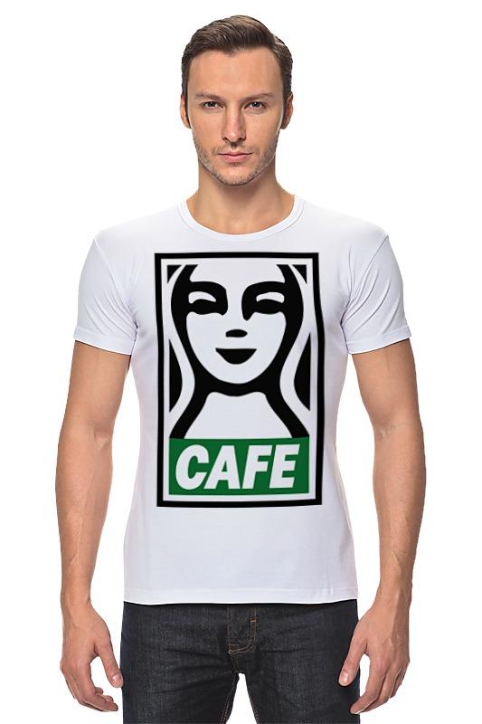 Футболка Стрэйч Printio Starbucks (obey) футболка стрэйч printio моряк попай