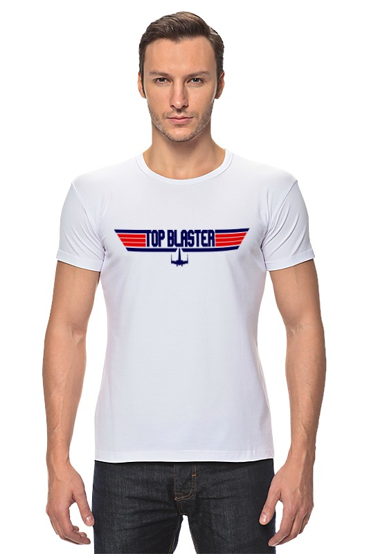 Футболка Стрэйч Printio Топ бластер футболка asics футболка layering top