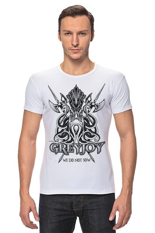 Футболка Стрэйч Printio Кракен грейджоев (игра престолов) футболка wearcraft premium printio игра престолов