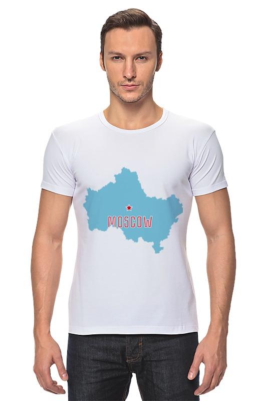 все цены на Футболка Стрэйч Printio Московская область. москва онлайн