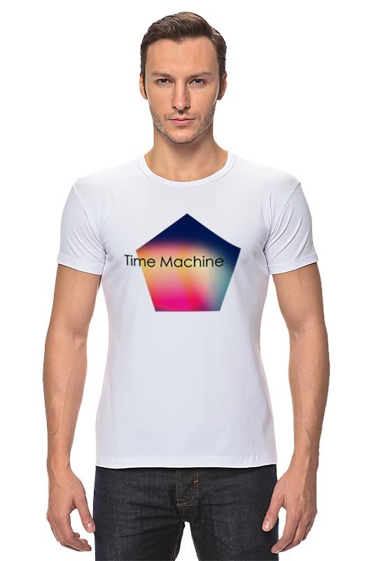 Футболка Стрэйч Printio Time machine футболка toy machine leopard brown