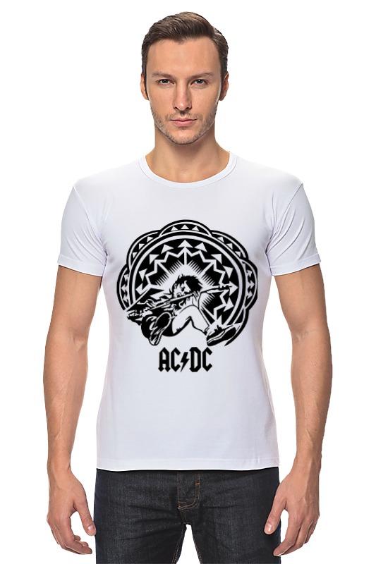 Футболка Стрэйч Printio Ac/dc - spasm футболка print bar ангус янг соло гитарист