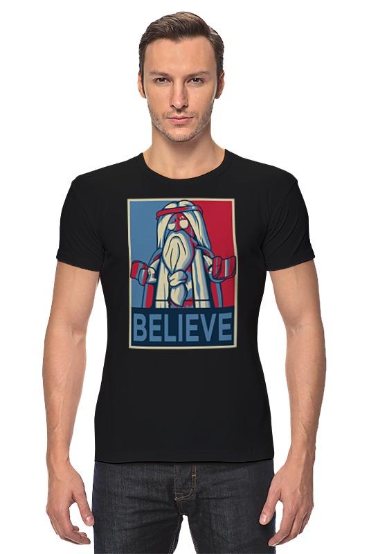Футболка Стрэйч Printio Лего иисус иисус исцеляет больного пазлы