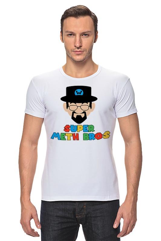 Футболка Стрэйч Printio Хайзенберг (марио) футболка стрэйч printio моряк попай