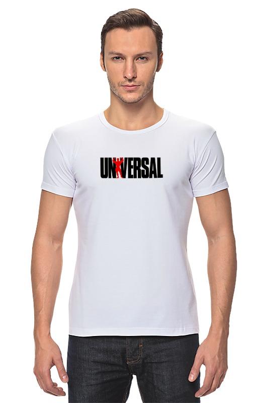 все цены на Футболка Стрэйч Printio Universal nutrition онлайн