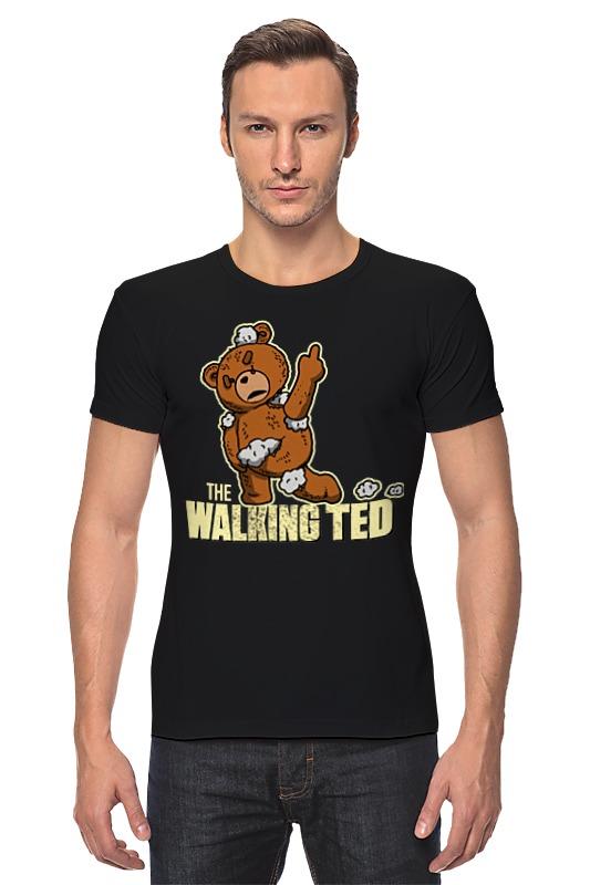 Футболка Стрэйч Printio Ted zombie футболка wearcraft premium printio ted pss