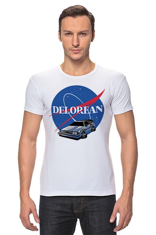 Футболка Стрэйч Printio Делориан (назад в будущее) футболка стрэйч printio назад в будущее 2