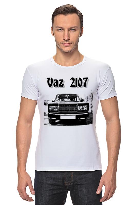 Футболка Стрэйч Printio Vaz 2107 авто ваз 2107 обухов