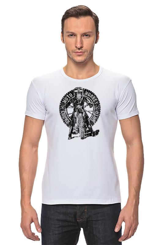 Футболка Стрэйч Printio Moto monkey футболка moto