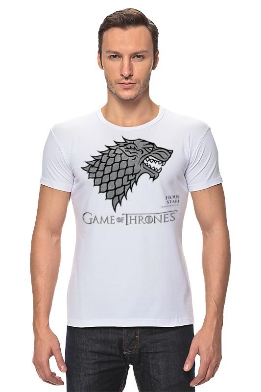 Футболка Стрэйч Printio Game of thrones футболка для беременных printio game of thrones