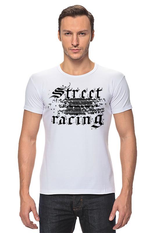 Футболка Стрэйч Printio Street racing блокнот printio прогулки по городу