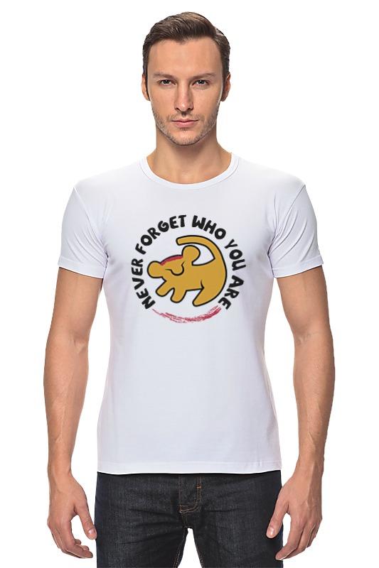 Футболка Стрэйч Printio Симба (король лев) футболка рингер printio король лев