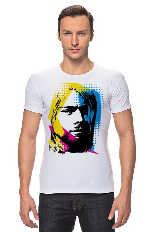 Футболка Стрэйч Printio Nirvana kurt cobain