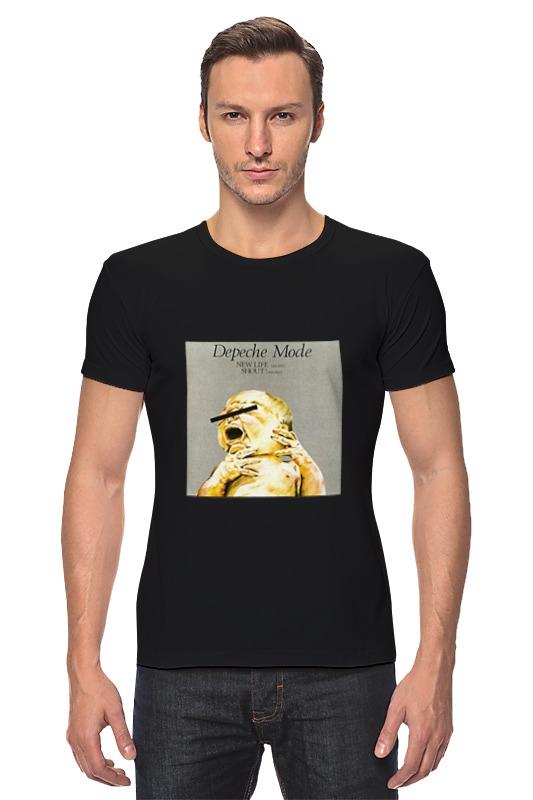 цена на Футболка Стрэйч Printio Depeche mode