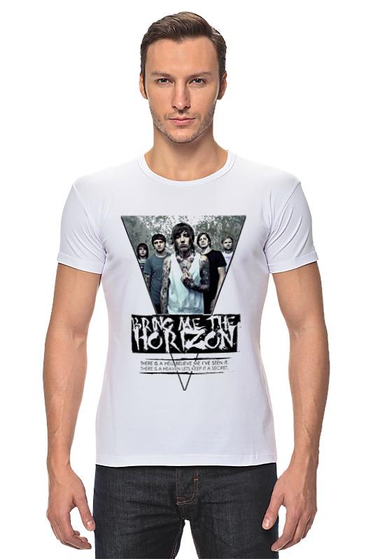 Футболка Стрэйч Printio Bring me the horizon треугольник футболка стрэйч printio bring me the horizon змеи