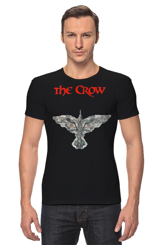 Футболка Стрэйч Printio The crow брэндон т тетка чарлея