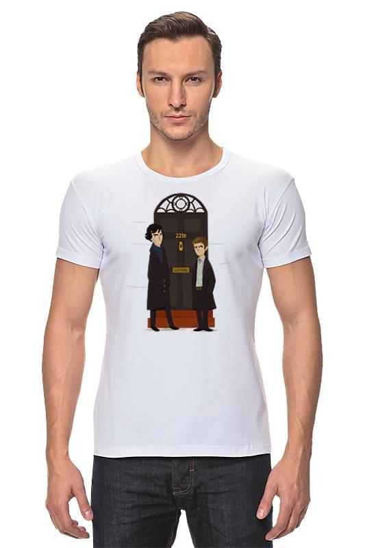 Футболка Стрэйч Printio Шерлок холмс (sherlock holmes) футболка стрэйч printio доктор кто х шерлок холмс