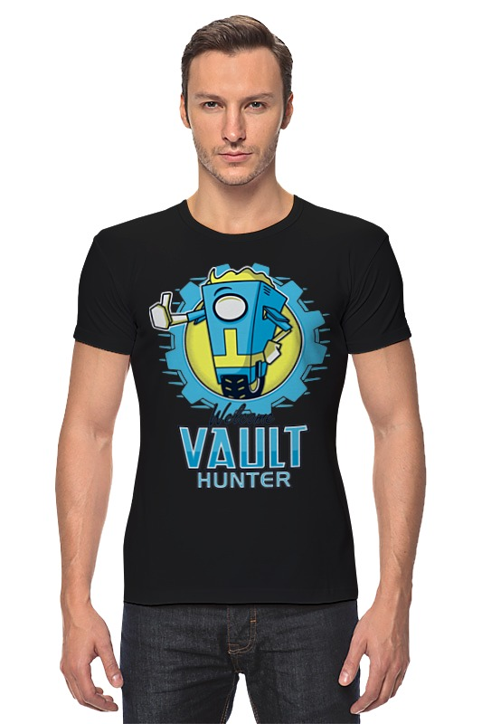 Футболка Стрэйч Printio Fallout x borderlands футболка классическая printio fallout фэллаут