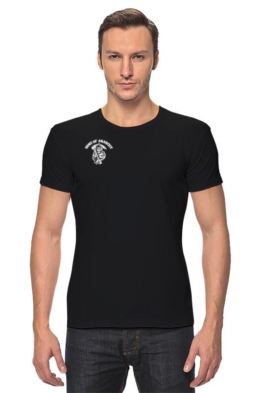 Футболка Стрэйч Printio Sons of anarchy t-shirt майка классическая printio sons of anarchy t shirt