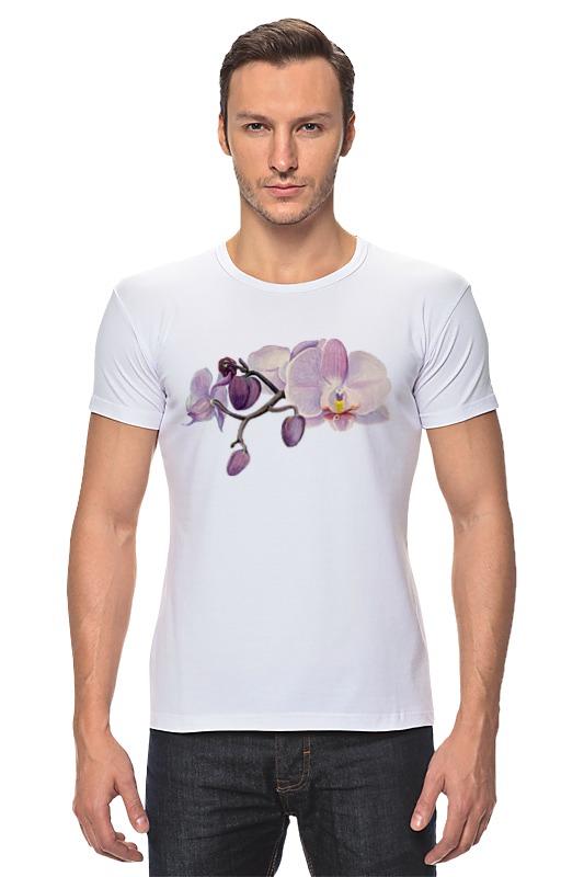 Футболка Стрэйч Printio Ветка орхидеи орхидеи фаленопсис челябинск питомник