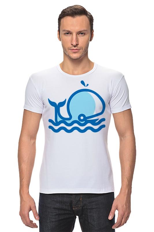 Футболка Стрэйч Printio Кит на море футболка стрэйч printio кит ричардс