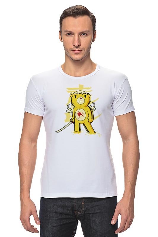 Футболка Стрэйч Printio Медведь (убить билла) футболка для беременных printio убить билла
