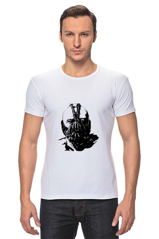 Футболка Стрэйч Printio Суперзлодей комиксов - бэйн робин dc comics из серии возращение тёмного рыцаря